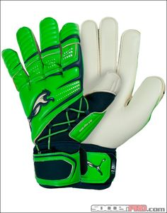 Puma v1.11 GK Glove - Fluorescent Green with Midnight Navy...$63.99