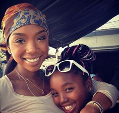 Brandy and Daughter
