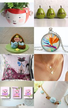 Cheerful Gift Ideas:)) by Fatma on Etsy--Pinned with TreasuryPin.com Love To Shop, Cheer, Etsy Seller, Shops, Invitations, Gift Ideas, Pendant, Handmade, Gifts