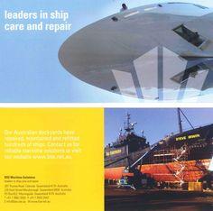 Brochure launching BSE Maritime's new brand identity.