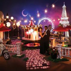 Buy Paris themed decorations for proms, homecoming dances and ...