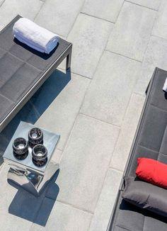 PROMA XL Paver- Modern backyard ideas with large slabs by Rinox