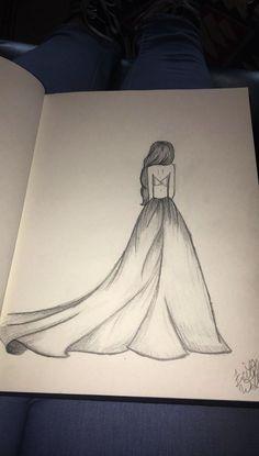 Art inspiration drawing sketches dibujo ideas for 2019 Easy Pencil Drawings, Girl Drawing Sketches, Girly Drawings, Art Drawings Sketches Simple, Disney Drawings, Art Drawings Beautiful, Drawing Drawing, Art Du Croquis, Art Inspiration Drawing