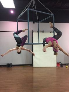 Axis Pole Fitness in Houston - aerial cube class