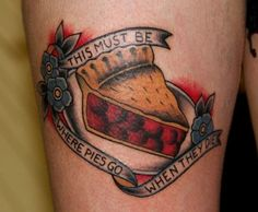 Cherry Pie tattoo