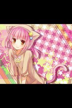#Nekomura Iroha #vocaloid Iroha, Animal Ears, Vocaloid, Neko, Manga, Anime, Art, Art Background, Manga Anime