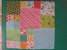 Magic numbers quilt block how to - great break down if you're too lazy to do the math, lol!