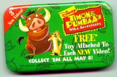 Disney's The Lion King Timon & Pumba Promotional Pin
