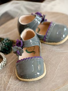 Gray Livie & Luca Bluebell shoes - from Little Abbey Boutique