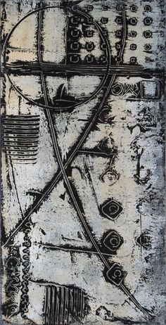 Anne Moore monotype