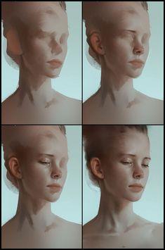 ArtStation - Portrait Study, Aaron Griffin