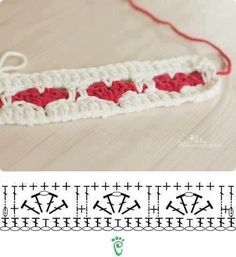 Crochet stitch--this would make a nice border