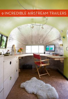 It's unbelievable what people have done with their Airstream trailers....