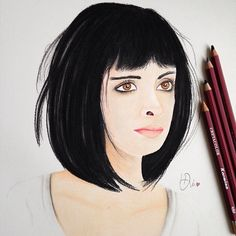 Krysten Ritter Drawing