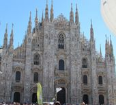 The Duomo - Milan's Cathedral, Italy Milan Cathedral, Barcelona Cathedral, Italy Tourist Attractions, Milan Duomo, Places To Travel, Places To Visit, Italy Pictures, Milan Italy, Architect Design