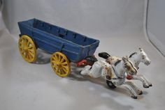 Cast Iron Horses and wagon, vintage, collectible, display piece Cartoon Network Adventure Time, Adventure Time Anime, Cast Iron, It Cast, Tiny Bunny, Flower Holder, Wooden Figurines, Fox Terrier