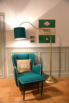 Green armchair, effo