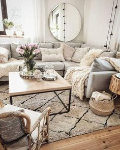 Home Remodel Modern .Home Remodel Modern Cozy Living Rooms, New Living Room, Apartment Living, Home And Living, Living Room Decor, Apartment Hacks, Bedroom Decor, Living Room Inspiration, Home Decor Inspiration