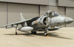 "AV-8B Harrier II Plus in the Spanish Armada called ""Bravo"", Escuadrilla No. 9, Spanish Armada"