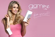 #Glamyourself like @elenasantarelli with GLAMme