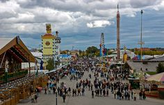 The jewel in the crown of Oktoberfest, and the reason why everyone is there, is the #beer. #travel #Germany