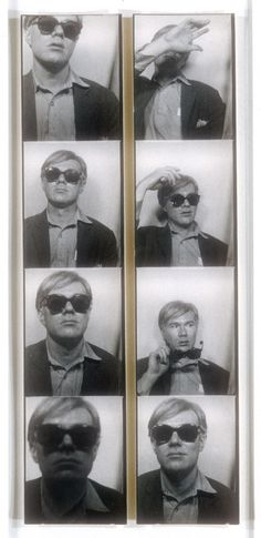 #AndyWarhol, Photo Booth Self-Portraits, c.1963, 2 Gelatin silver prints, Each 7 3/4 x 1 7/16 inches, Purchase, Rogers Fund, Joyce and Robert Menschel, Adriana and Robert Mnuchin, Harry Kahn, and Anonymous Gifts, in Memory of Eugene Schwartz, 1996, Collection of The Metropolitan Museum of Art, New York