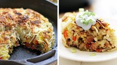 Everything that is delicious in one skillet. Come to the table... breakfast is served!