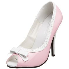 Pleaser Women's Seduce-218 Pump,Baby Pink/White,11 M US Pleaser,http://www.amazon.com/dp/B000XUSRH0/ref=cm_sw_r_pi_dp_Z0PGsb1X741DDNV5
