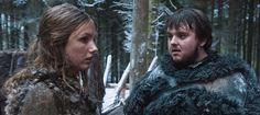Sam e Gilly aparecem em novas fotos do set de Game of Thrones