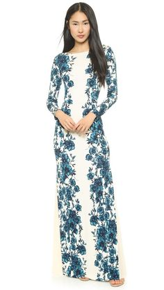 Tory Burch Stacy Gown Fall 2014