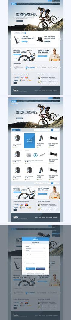BIROX Online Store by cPl92 on deviantART