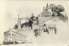 Sketches Of London Skyline Sketch By Mark45cmd Travel