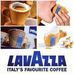 Taza comestible