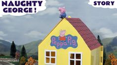 Peppa Pig Play Doh Thomas and Friends Pocoyo Toys Story Naughty George T... Peppa Pig's brother George is very naughty and needs rescuing from a roof top, but how will they get him down? #peppapig   #pocoyo   #playdoh   #pepa   #toys   #toy   #story   #rescue   #thomasandfriends   #thomas
