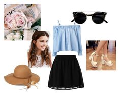 """""""verano"""" by eulalia-323 on Polyvore featuring even&odd, Sandy Liang, Pastel Pairs, Steve Madden y REGALROSE"""