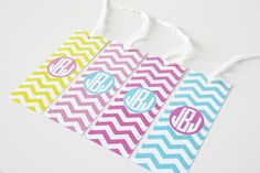 Free printable customizable monogram-bookmarks-