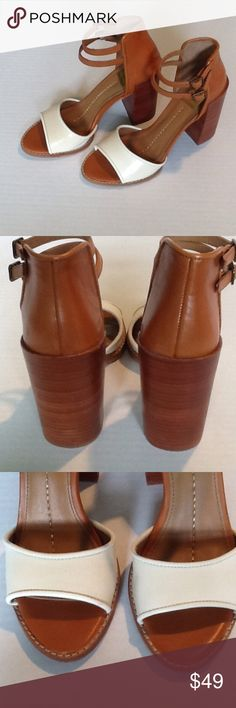 DOLCE VITA SANDALS Beautiful leather Dolce Vita sandals. In new condition. Very small flaw on with leather as show in picture 3. Never worn outside and inside a few times. In excellent shape. Dolce Vita Shoes Sandals