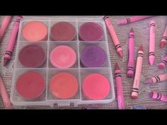 This is the recipe that works best for me so far.  Skip the first couple minutes to get to the tutorial.  DIY Crayon Lipstick // Lip Gloss - SoCraftastic - YouTube