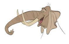 La Nuez: Galería de hojas de diseño de personajes de Zootopia.