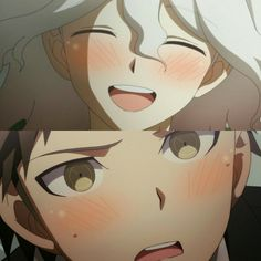 Super Danganronpa, Danganronpa Memes, Danganronpa Characters, Hinata, Manga, Pink Blood, Nagito Komaeda, Cute Anime Pics, Aesthetic Anime