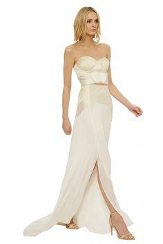 Mara Hoffman's Artemis Corded Bridal Bustier from The Devotional Collection | via junebugweddings.com ALL NEW Wedding Dress Gallery