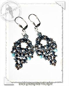 Pattern bijoux: Orecchini Twinlill