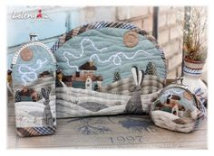 Gallery.ru / Фото #24 - Japanese patchwork eyeglass case, cosmetic bag, coin purse