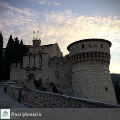 #buongiorno con le sue prime luci grazie allo scatto di @earlybrescia 😀🌄🏰 . . .  Questa mattina allenamento in castello 🏃🏻#earlybrescia #brescia #TurismoBrescia #bresciacentro #bresciasegreta #itineraribs #igersbrescia #insta_brescia #instabrescia @insta_brescia #ig_brescia #bresciacity #top_lombardia_photo #scatti_bresciani #vivobrescia #visitbrescia #bresciadascoprire #movingculturebrescia #atlantediviaggio #volgobrescia #volgolombardia #amazingbrescia #iocorroqui #run #running…