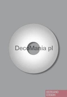 Lampa ścienna Foscarini - Ellepi - biała   DecoMania.pl