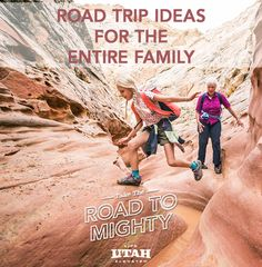 Utah is one of the top family vacation destinations in America and a variety of fun activities and adventures that children and parents will love are waiting to be discovered along the Road to Mighty. Top Family Vacations, Family Vacation Destinations, Vacation Trips, Family Travel, Travel Destinations, The Places Youll Go, Places To Go, Utah Adventures, Travel Goals