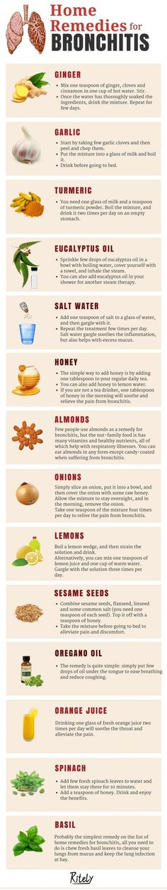 Simple and Natural Home Remedies for Bronchitis #naturalasthmaremedies