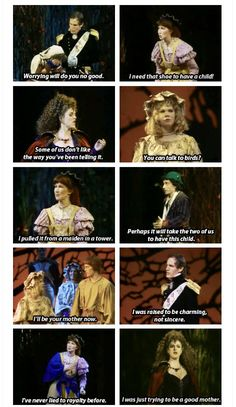 There is no sass like Into The Woods sass