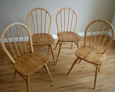 1960's Ercol Windsor Chairs