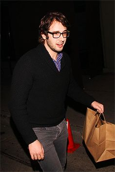 Josh Groban seen dining at Craig's in West Hollywood (12/20/2013)